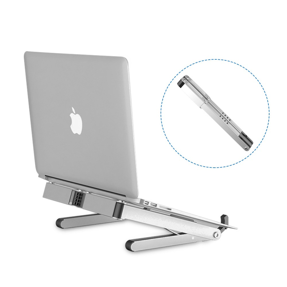 11 To 15.6 Inch Foldable Laptop Stand For Macbook Lenovo Dell Asus HP Portable Notebook Stand Holder Lapdesk Cooling Bracket