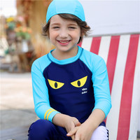 Child Boys Swimwear 2017 New Summer Full Body Swimming Suits For Boy 2 9years Brands Models