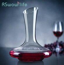 Glass Wine Decanter Decantador De Vino Home Decanter Wine Personality Pourer For Home Bar Wine And Drinking Utensils цена