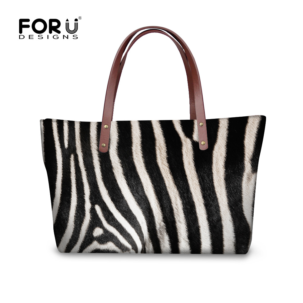 Retro Striped Leopard Print Top-handle Bags for Women Brand Designer Handbags High Quality Lady Totes Bolsos femme de marque high quality iron wire frame sun glasses women retro vintage 51mm round sn2180 men women brand designer lunettes oculos de sol