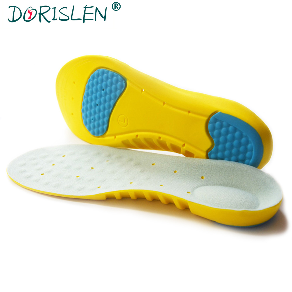 DORISLEN PU Sport Insoles For Shoes Breathable Sweat Absorbing Pad 50pairs water absorbing oil absorbing cleaning cloth