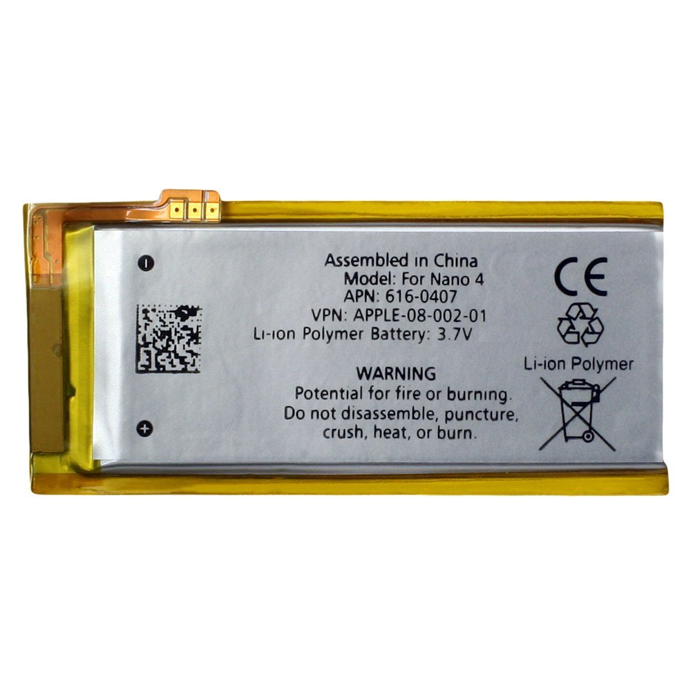 Replacement Rechargeable Battery For Apple IPod Nano 4th 4 Gen Generation