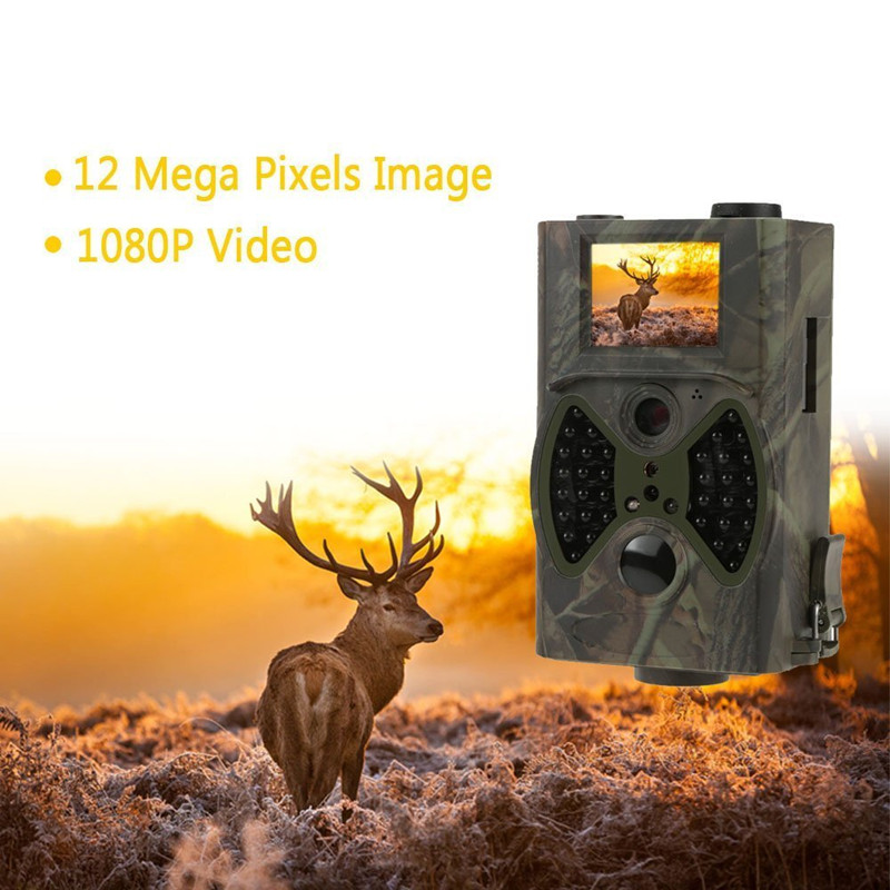 HC300M Hunting Trail Camera HC-300M Full HD 12MP 1080P Video Trap Night Vision SMS MMS GPRS Scouting Infrared Game Hunter light hc 300m hunting game camera mms photo trap hd scouting infrared outdoor hunting trail video camera black ir night vision camera