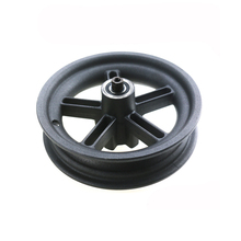 for Xiaomi Mijia M365 Scooter Parts Wheel Hub Aluminum Rear Wheel Hub with 6001RS Bearing Axle Electric Scooter цена