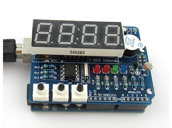 Бесплатная доставка цифровой электронный модуль с тепловые трубки часы