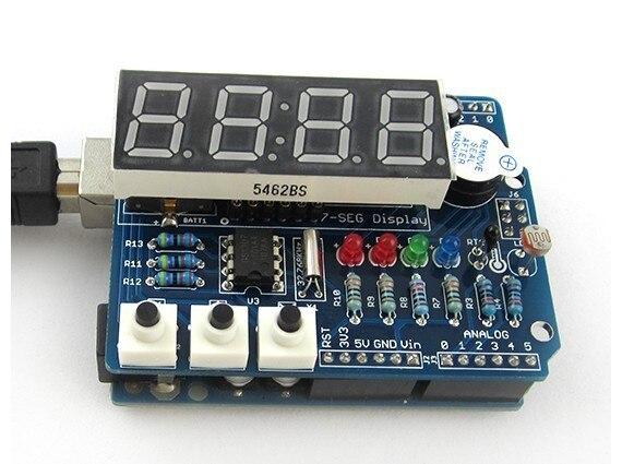 Freeshipping Digital electronic module with thermal tube clock freeshipping rs232 to zigbee wireless module 1 6km cc2530 chip