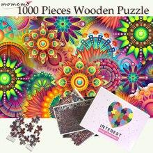 Цветной деревянный пазл momemo 1000 пазлы для взрослых из частей