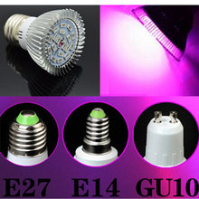 E27 220v LED Light SMD5730 Full Spectrum plant growth lamp 18W E14 110v 18leds Spotlight Bulb indoor greenhouse plant pot lamp(China)