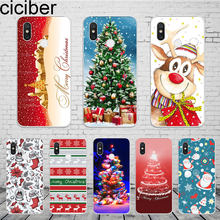 ciciber Merry Christmas Cover For Xiaomi MIX MAX 3 2 1 S MI A2 A1 9 8 6 5 X 5C 5S Plus Lite SE Pro Pocophone F1 Phone Case Funda(China)