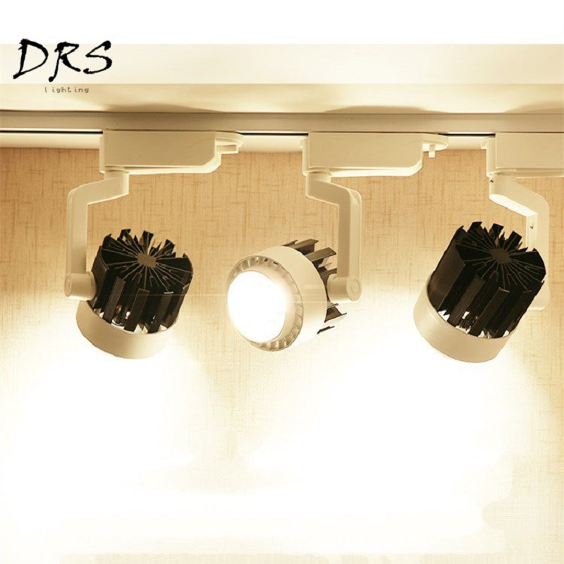 Lighting LED Rail Light Clothing Store Ultra bright Luminaria Showroom Living Room Background Wall 25W / 35W Commercial Lights