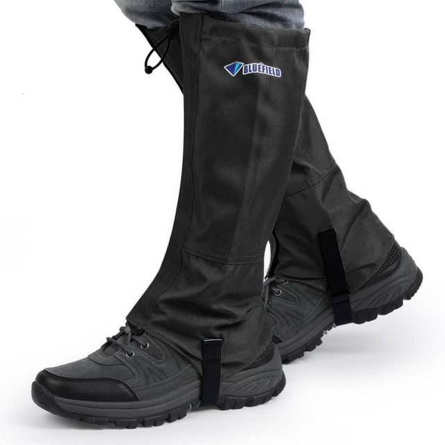 Us 1374 Bluefield Outdoor Waterproof Shoes Covers Gaiters Snow Skiing Hiking Climbing Leg Guard Protection Windproof Snow Proof In Shoes Covers
