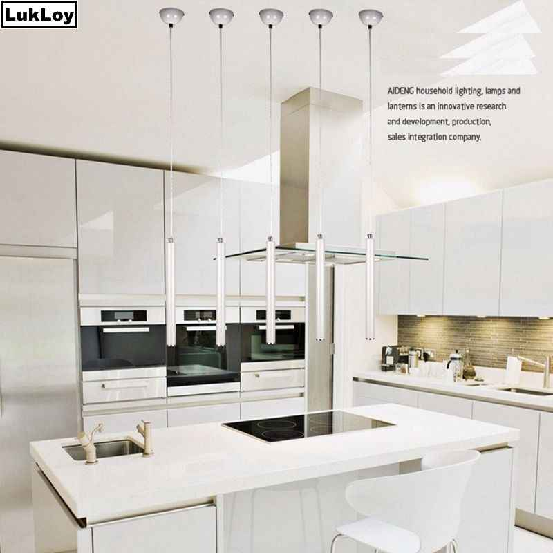 Detail Feedback Questions About Dimmable Pendant Lamp Modern Kitchen