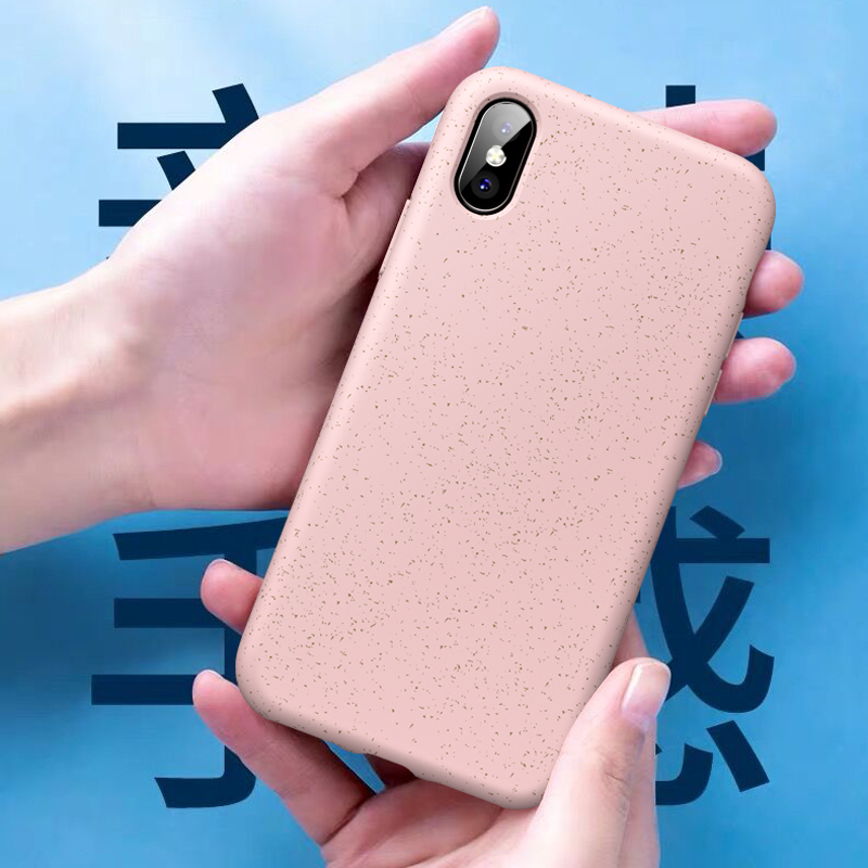 ikrsses For iPhone xs max Case Candy Color Soft Silicone TPU Wheat pole Case for iPhone xr xs x Phone Cover for iphone 7 8 Plus iPhone XS