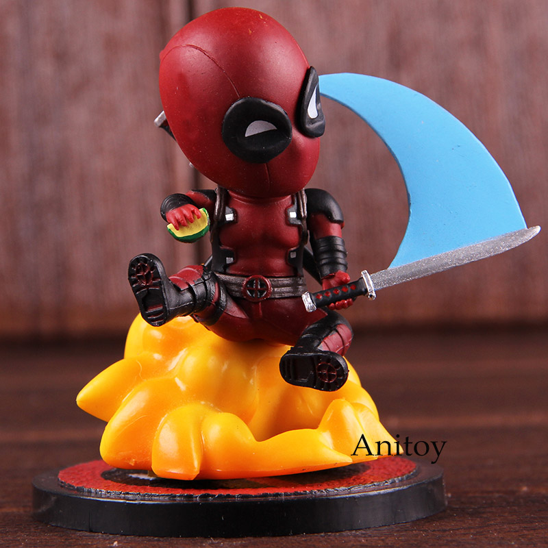 Marvel Comics Deadpool Mini Egg Attack Series MEA-004 Deadpool Figure Action PVC Collectible Model Toy image