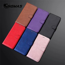 Leather wallet case for Huawei P9 P10 lite MINI phone case with bank card slots PU leather for Huawei P20 lite pro flip case
