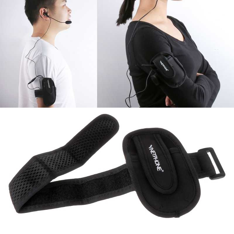 2019 nouveau arbitre Interphone brassard sac casque Armlet casque cavalier Portable sac étui