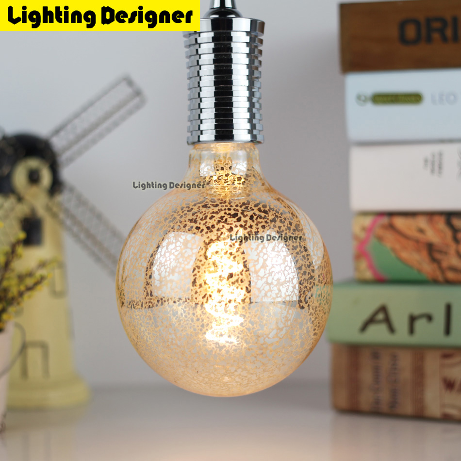 G125 led edison bulb spiral dimmable light Leopard print amber retro saving lamp vintage filament bubble ball bulb E27 led light led smart emergency lamp led bulb led e27 bulb lights light bulb energy saving 5w 7w 9w after power failure automatic lighting