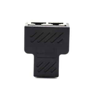 Image 5 - 1 To 2 Ways Ethernet Network Cable RJ45 Female Splitter Connector Adapter for Laptop Docking Stations Z07 Cable Drop shop