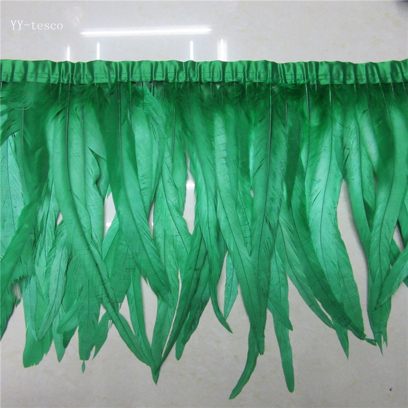 LC/_ Nature Plume D/'Oie Frange pour Mariage Couture Artisanale Costume