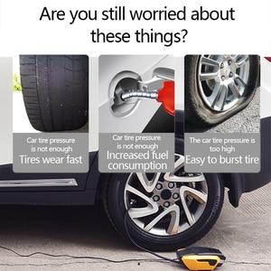 Image 3 - اكسسوارات السيارات ضاغط هواء للسيارة 12V مضخة نفخ LED ضغط الوقت الحقيقي السيارات مضخات هواء العالمي سيارات صغيرة الكهربائية