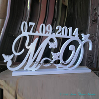 Last Name Save the date Custom Set Mr and Mrs Last name Sign Table Decor Mr and Mrs Wedding Sign Table Wooden Letters
