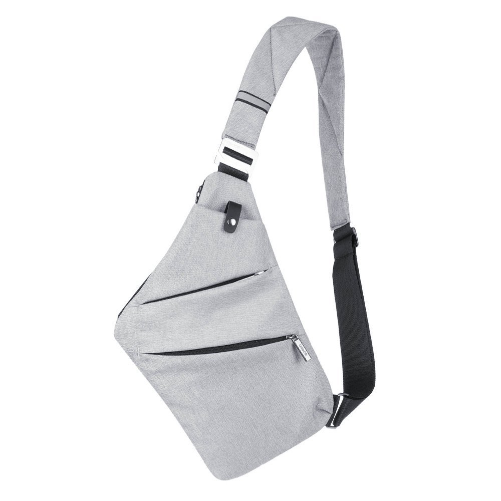 Detail Feedback Questions about Men Nylon Crossbody Shoulder Bag Male fino Bag  Men s Hidden Thin Sling Casual chest waterproof Storage backpack bags for  men ... 99127e3ccca5