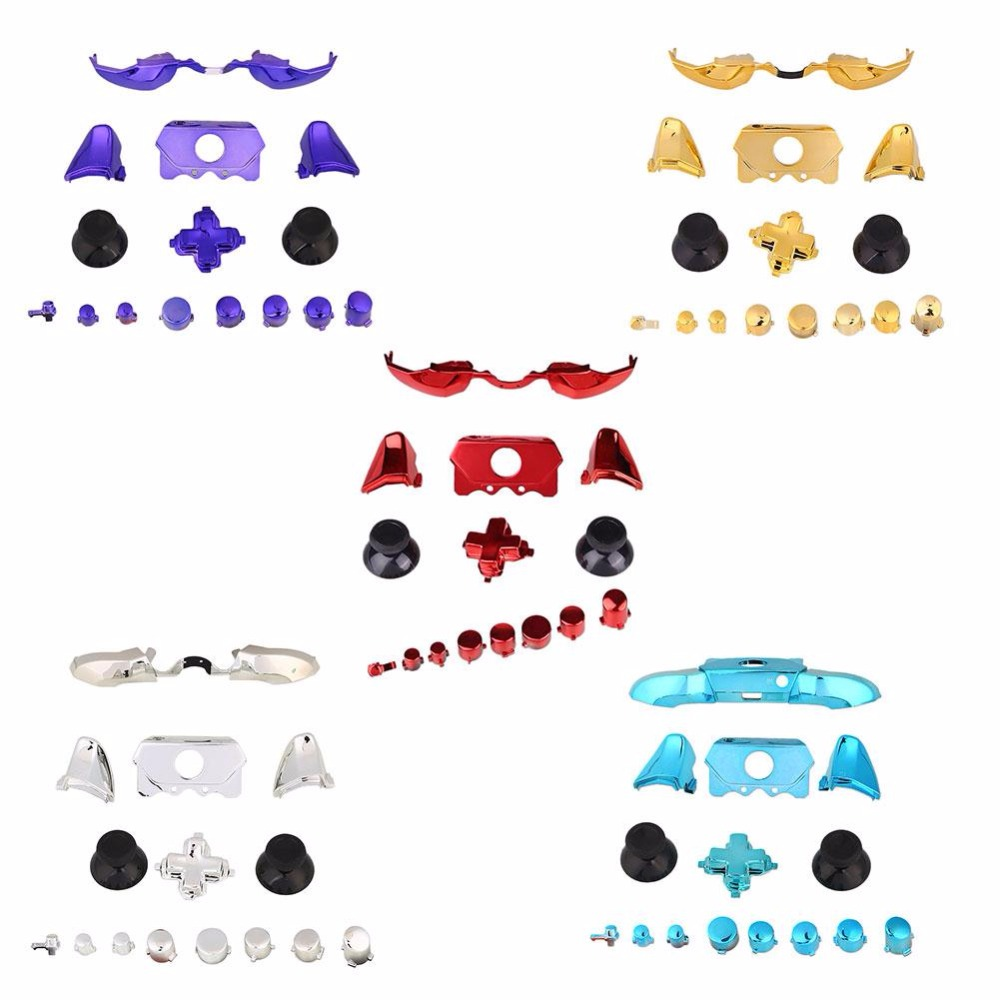 Cewaal 15Pcs Bumpers Triggers Buttons LB RB For Xbox One Elite font b Video b font