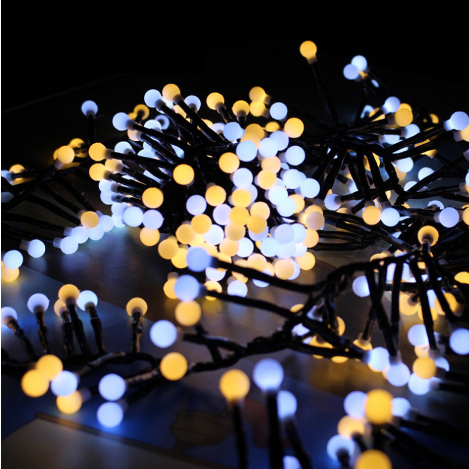 YINGTOUMAN NEW Plugs Powered Christmas Lights 3m 400 LED 8 Modes Fairy String Lights For Outdoor Wedding Christmas Party Lamps
