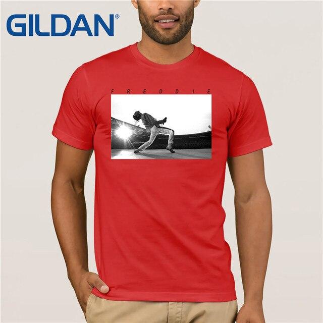 be9c88edc26 Queen Freddie Mercury Howl T-shirt-White Hip Hop Novelty T Shirts Men S  Brand Clothing Top Tee Summer 2019 100% Cotton