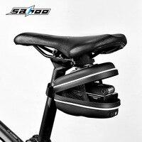 Sahoo 13875 SA górska droga rowerowa rowerowa bagażnik rowerowy torebka podsiodłowa saszetka worek klinowy w Torby i sakwy rowerowe od Sport i rozrywka na