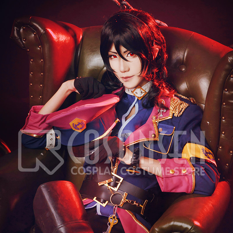 Ensemble Stars Sakuma Rei Offering The Easter of the Undead Cosplay Costume COSPLAYONSEN Full Set