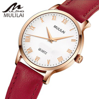 Classic Rome 2017 Fashion Simple Style Top Famous Luxury Brand Quartz Watch Women Casual Leather Watches
