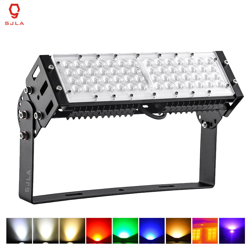 LED Outdoor Lighting Waterproof IP65 Warranty 5 Years Red Green Blue Yellow Warm Cold Nature White Powerful 50W LED Flood Light ultrathin led flood light 200w ac85 265v waterproof ip65 floodlight spotlight outdoor lighting free shipping