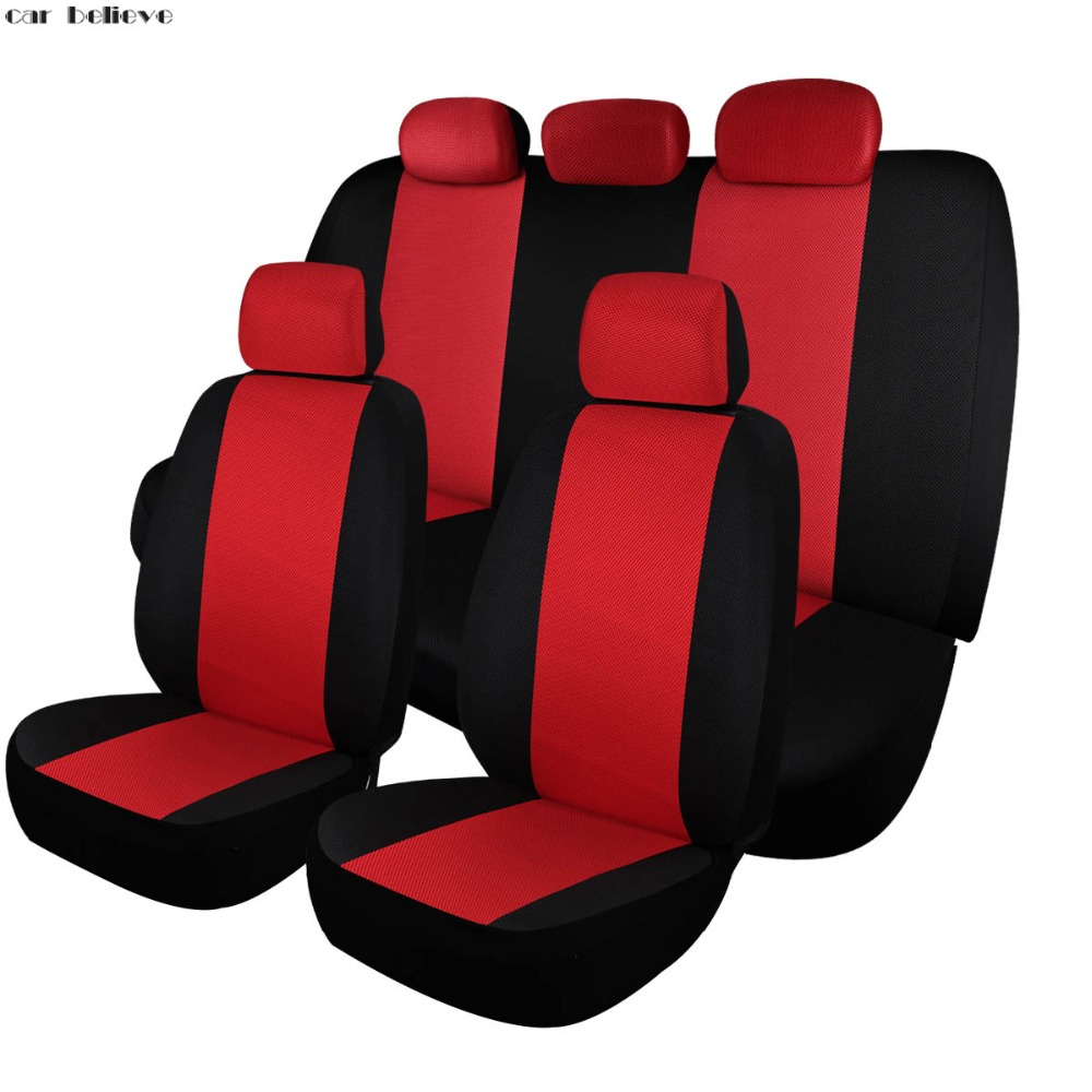 Car Believe car seat covers For nissan qashqai j10 almera n16 note x-trail t31 patrol y61 juke covers for vehicle seats