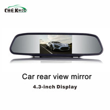 Car Monitor 4.3 Screen For Rear View Reverse Camera TFT LCD view Mirror Display Inch  Color HD Backview