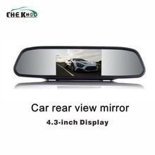 """Car Monitor 4.3 """"Dello Schermo Per Auto di Inverso di Retrovisione Della Macchina Fotografica TFT LCD A Specchio di retrovisione Display a Colori Da 4.3 Pollici HD Backview Specchio"""