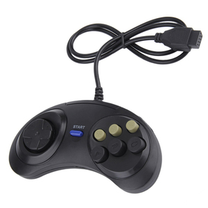 Black 6 Buttons USB Wired Joyp