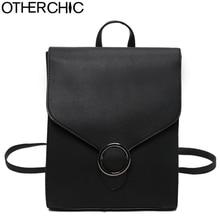 Otherchic Брендовые женские рюкзак высокое качество из искусственной кожи Школьные ранцы модные женские туфли backbag девушки ранец SAC DOS L-7N08-09