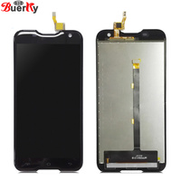 BKparts Tested For Blackview BV5000 BV 5000 Full LCD Display Touch Screen Glass Digitizer Complete Assembly Replacement