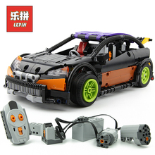 Lepin 20053 Technic RC Car Series the Hatchback Type R Set MOC-6604 Building Blocks Bricks Educational Children toys Gift lepin