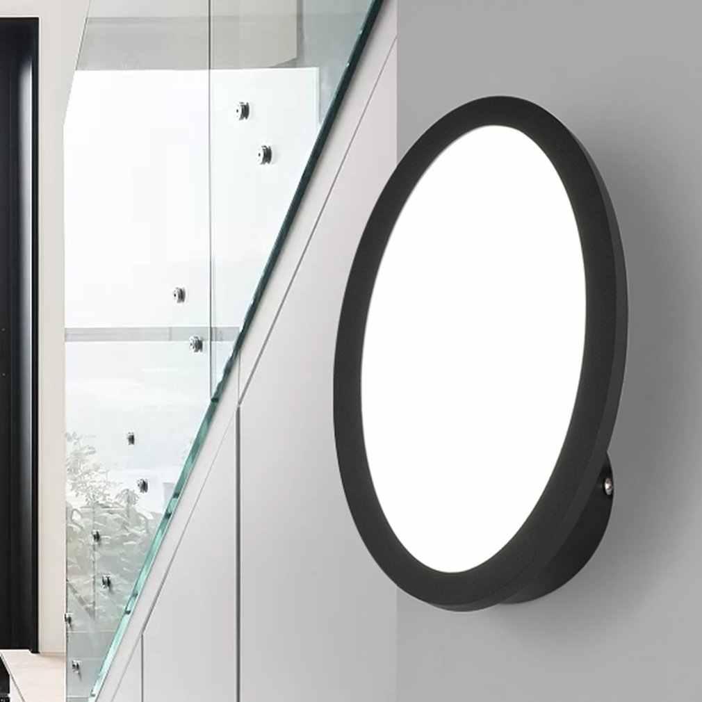 Матовый Стиль ромбовидной формы акриловые настенные светильники Светодиодные комнатные настенные лампы светодиодные бра для спальни гостиной лестницы