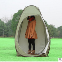 Outdoor Waterproof Camping Shelter Changing Room Dressing Cabin Wardrobe Bathing Shower Move Toilet WC Single Tent Locker Room