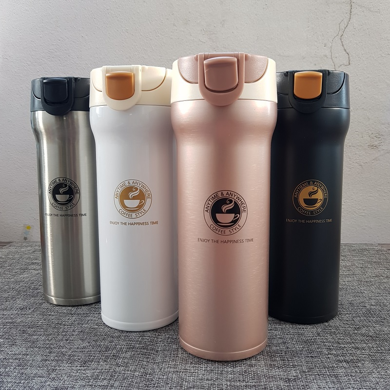 Hot Quality Double Wall Stainless Steel Vacuum Flasks 500ml 350ml Car Thermo Cup Coffee Tea Travel Mug Thermol Bottle Thermocup Кубок