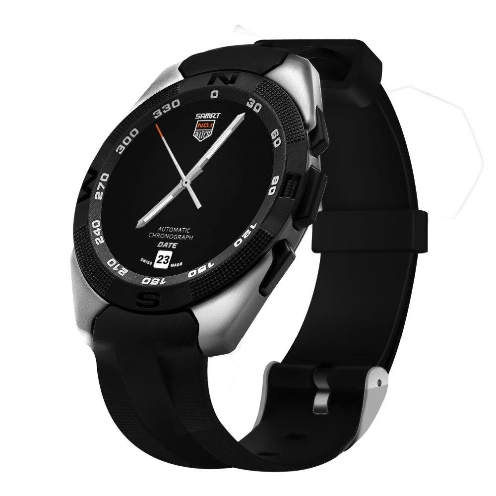 imágenes para Original N° 1 G5 Deporte de Relojes Inteligentes Hombres Mujeres Teléfono Bluetooth Reloj Smartwatch Para Android ISO Con la Frecuencia Cardíaca Monitor
