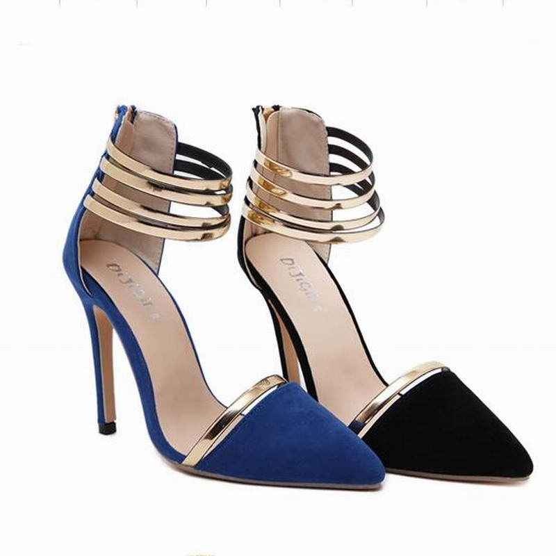 US5 9 New Style Women s Sexy High Heels Pointed Toe Office Lady Celebrity Ladies  Sandals Pumps Woman Shoes -in Women s Pumps from Shoes on Aliexpress.com ... 0fd69b6cd7ad