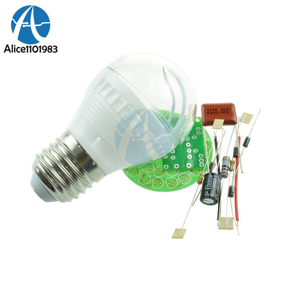 38 LED Energy Saving Lamp 2 4W with PBT Flame Retardant Shell font b Electronic b