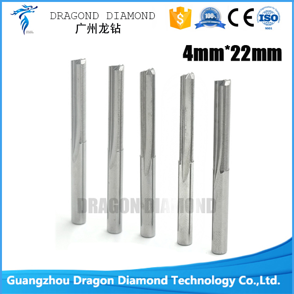 10pcs 4*22mm Double Straight Flute Slot Cutter, CNC Wood Milling Cutting Tools, End Mill on Woodworking Machine free shiping1pcs aju c10 10 100 10pcs ccmt060204 dia 10mm insertable bore drilling end mill cutting tools arbor for ccmt060204