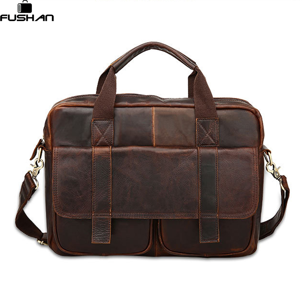 Подробнее о New 2017 Men Messenger Bags Genuine Leather Bag Men Briefcase Fashion Designer Handbags High Quality Famous Brand Business Bag's new men business handbags messenger bags genuine leather bag men briefcase fashion high quality brand design shoulder bag ys1444