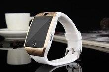 Freies DHL Großhandel bluetooth smart Uhr Apro Smartwatch Gebaut in 8 GB Speicher Unterstützung NFC SIM für samsung android telefon PK dz09