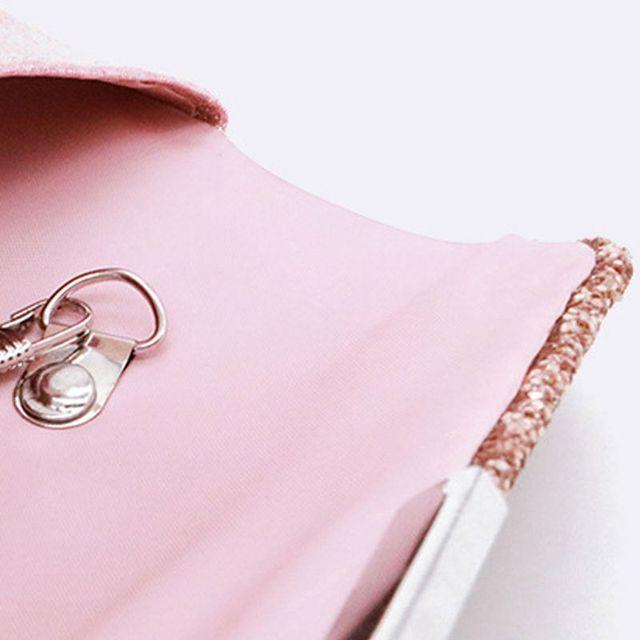 Women's Fashionable Glitter Clutch Handbags